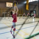 Minivolley: Pallavolo Novaggio / Bedigliora. Un momento dell'allenamento.