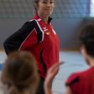 Minivolley: Pallavolo Novaggio / Bedigliora. Nella foto l'allenatrice Daria Petronio. ©Ti-Press/Carlo Reguzzi